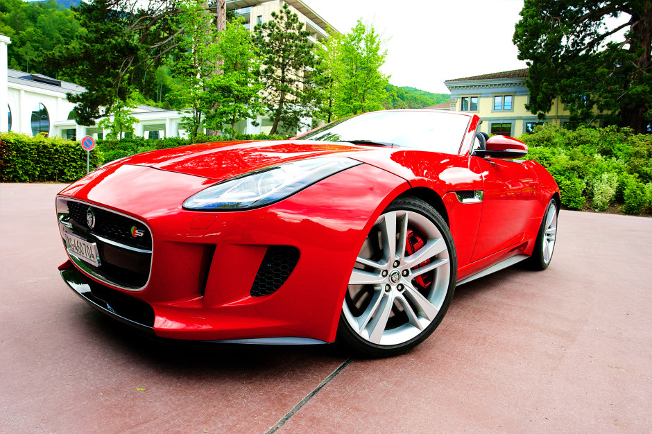 Jaguar F-Type, Autotest