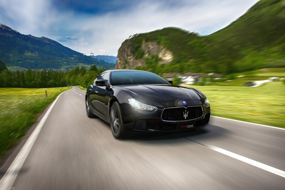 Fotoshooting Maserati Ghibli
