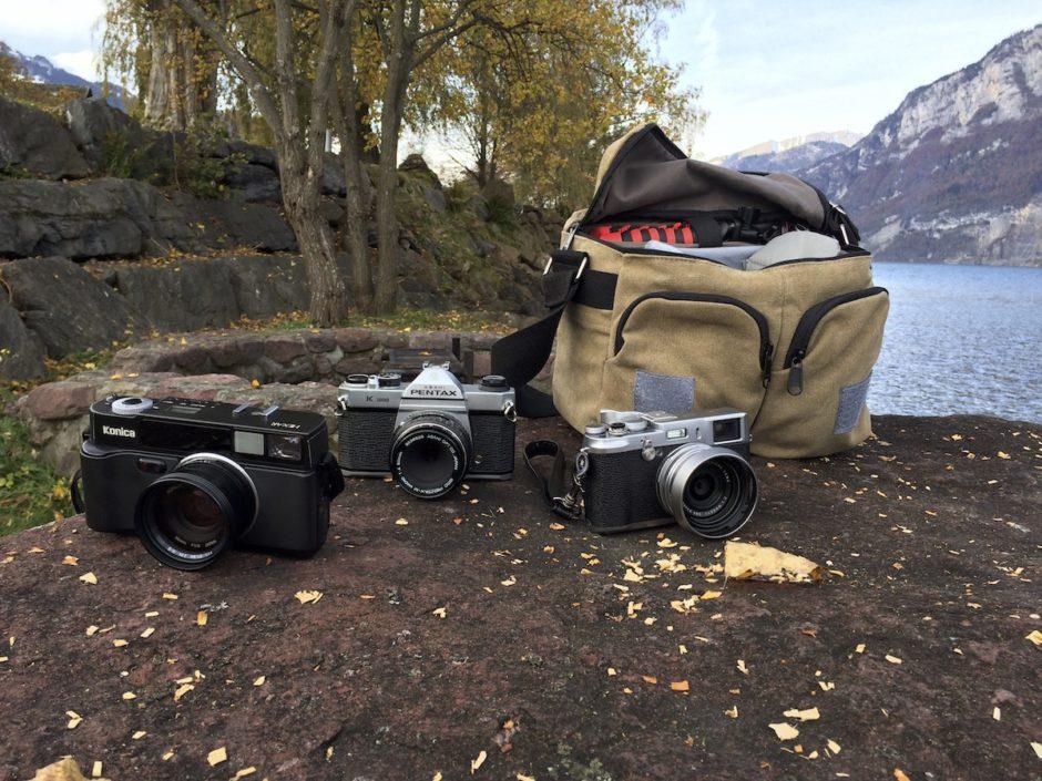 """Shooting Film Sunday"" #filmsnotdead"