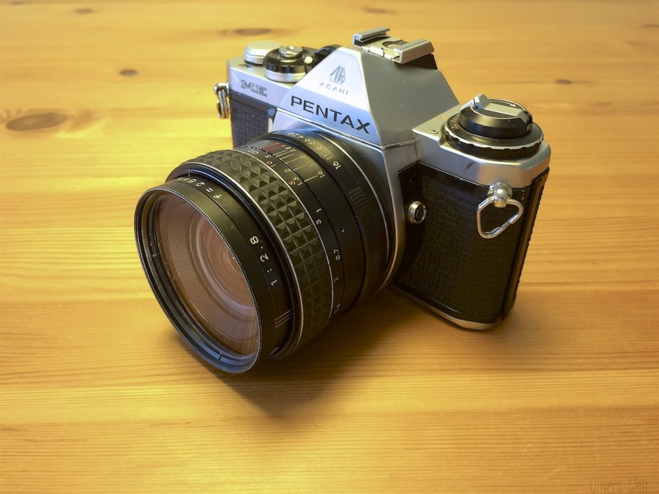 Pentax ME mit 28mm f/2.8