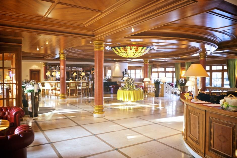 Lobby der Alpenrose