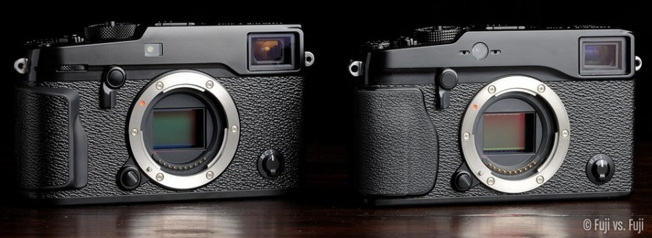 THE ALL-NEW 24.3MP X-TRANS SENSOR IN THE X-PRO2, AND THE ORIGINAL 16.3MP X-TRANS SENSOR IN THE X-PRO1