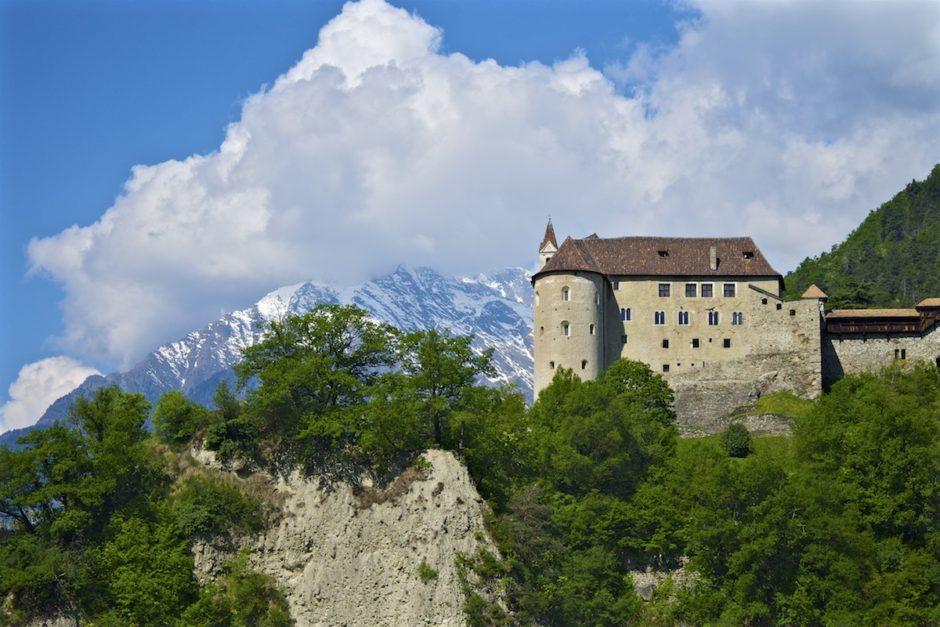 Meran, Bozen, Südtirol, Italien, Auffahrt