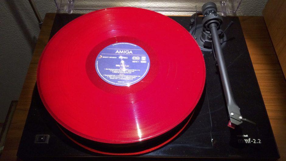 Dreht sich gerade auf dem Plattenteller: Silly: Februar (Limited Edition) (Red Vinyl)